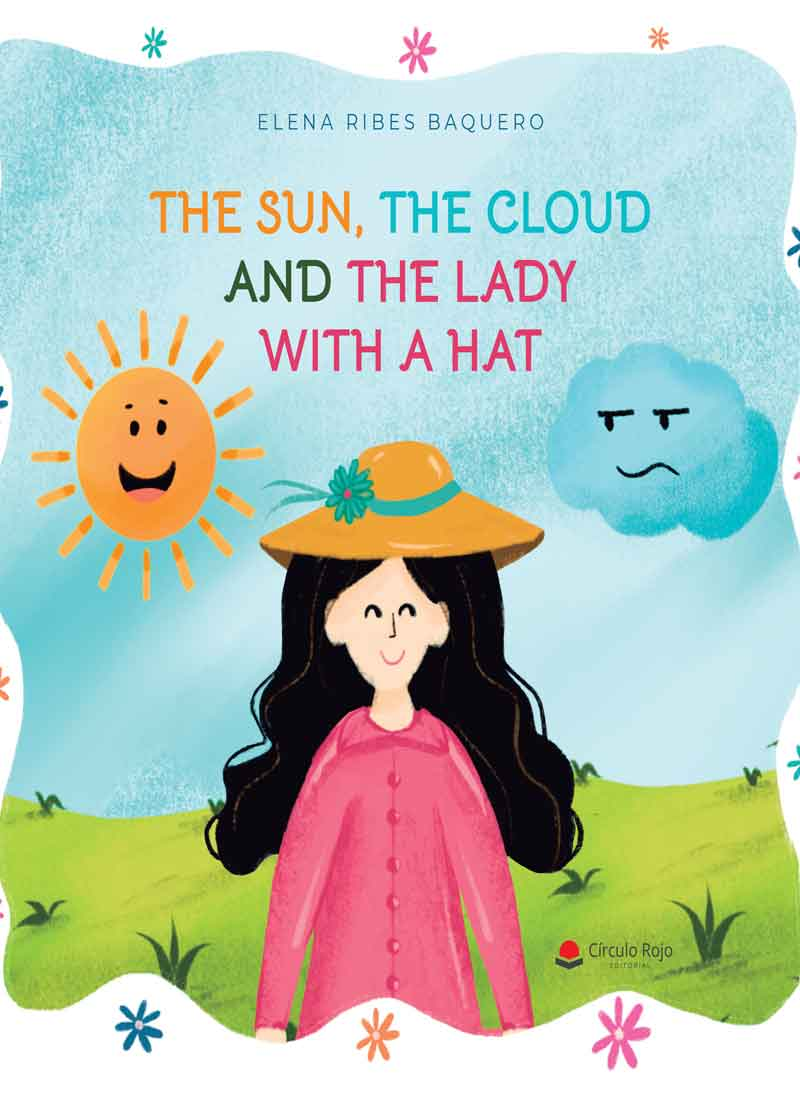 The sun, the cloud and the lady with a hat