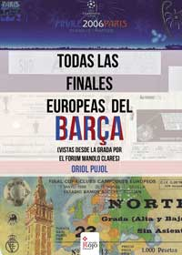 Todas las finales europeas del Barça